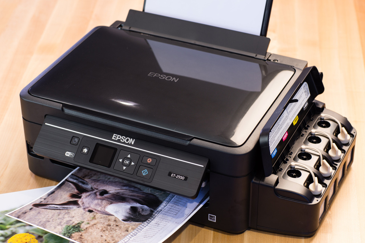 Epson EcoTank ET-2550 ET-4550 Printer Review
