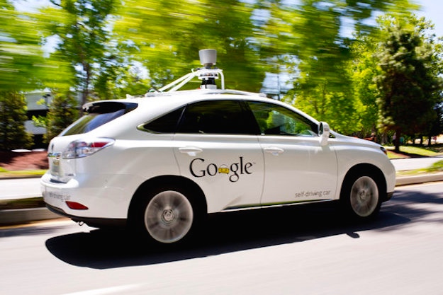 Google Self Driving Car Crash Video