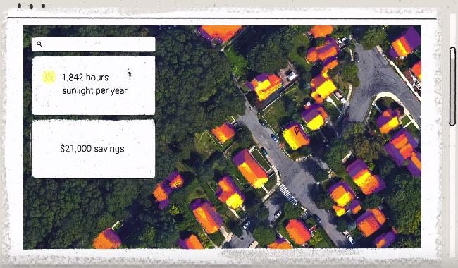 Google Maps Project Sunroof Solar Power