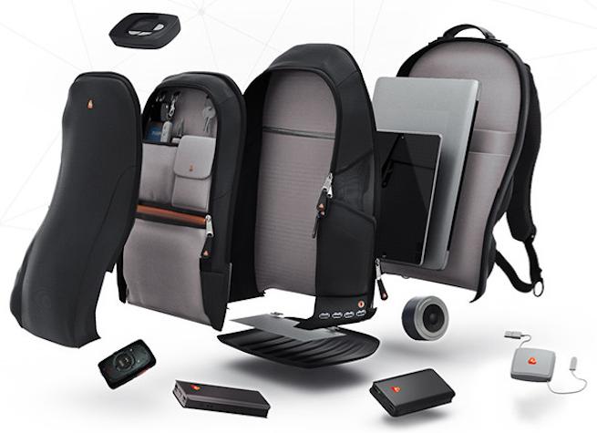 iBackPack Built-in Battery Speaker GPS Wi-Fi