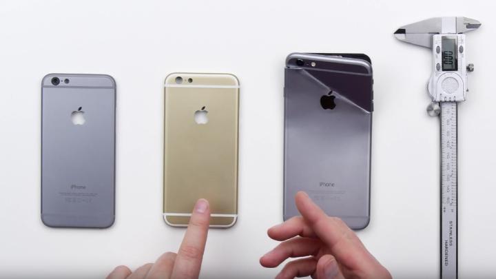 iPhone 6s Vs. iPhone 6 Plus Bendgate