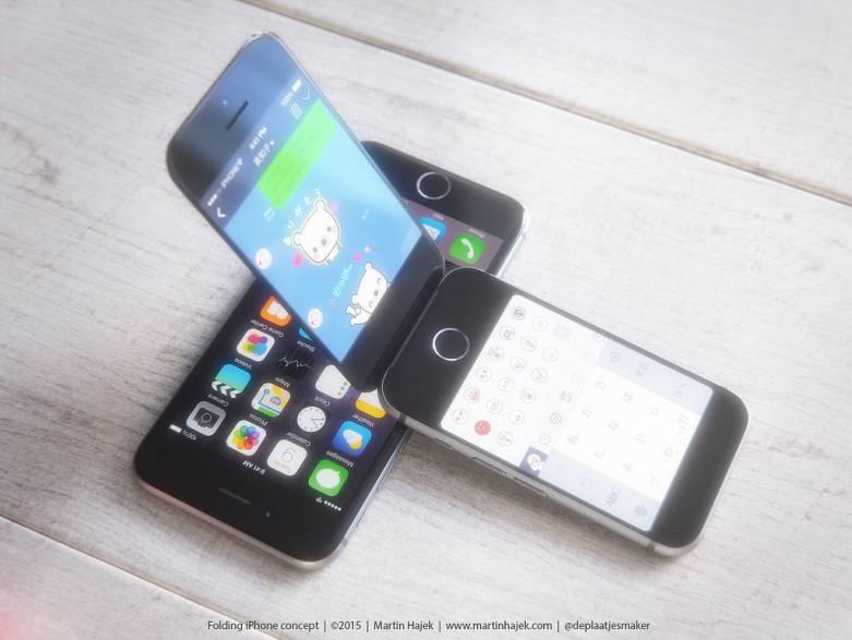 Apple iPhone Flip Phone Concept