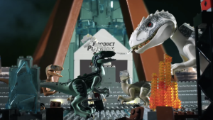 Jurassic World LEGO Stop-Motion Video