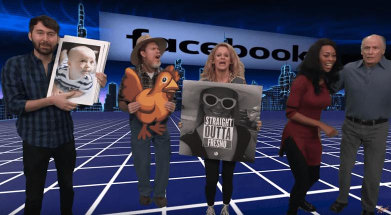 Facebook Virtual Reality Jimmy Kimmel Video