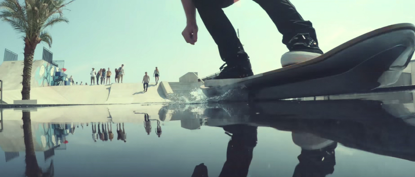 Lexus Slide Hoverboard Hands-on Video Demo