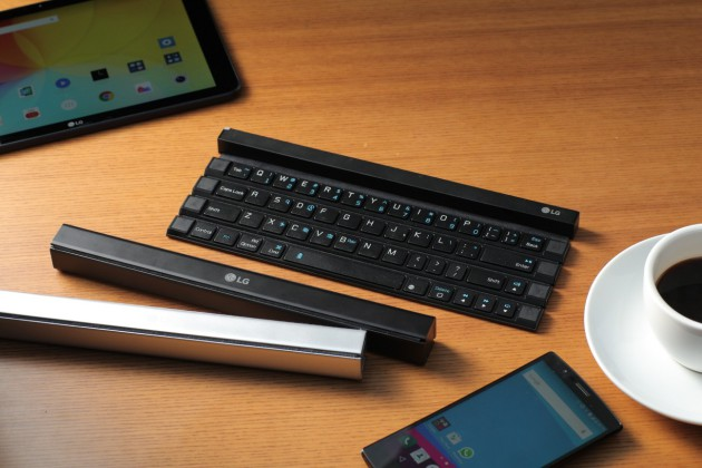 LG Rolly Keyboard iPhone Android