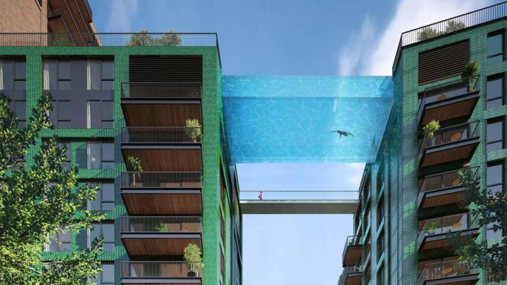 London Sky Pool Proposal Unveiled