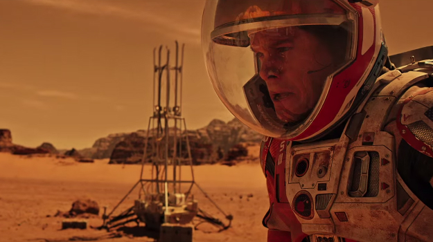 The Martian 2035 Earth iPhone Android