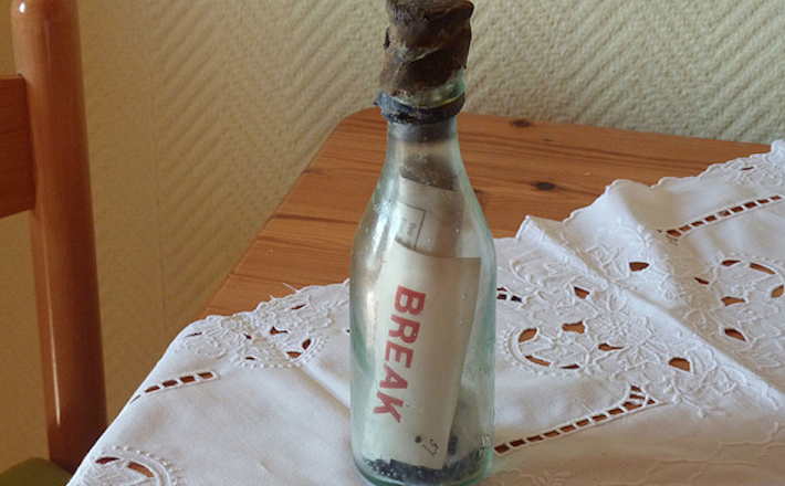 Oldest Message Bottle 108 Years