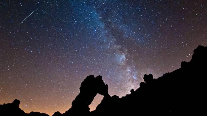Perseid meteor shower photos