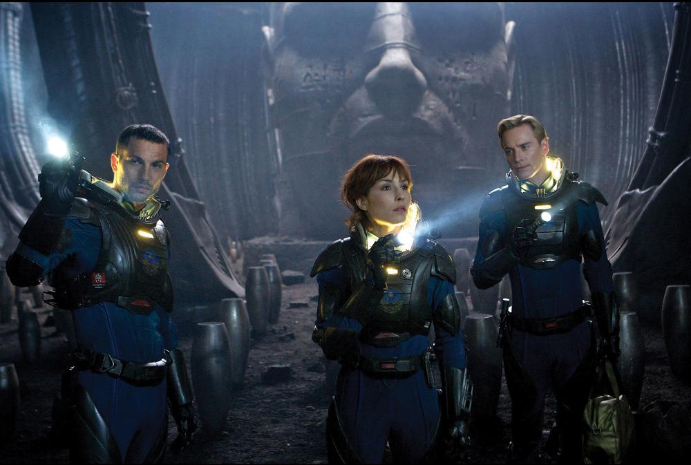 Prometheus Sequel Alien: Covenant Trilogy