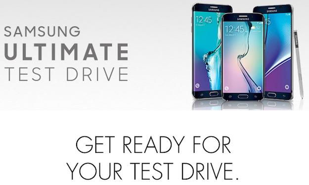 Samsung Test Drive iPhone