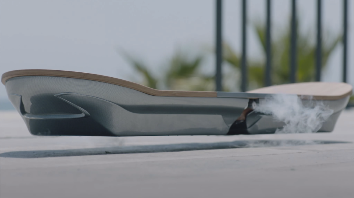 Lexus Hoverboard Science Video