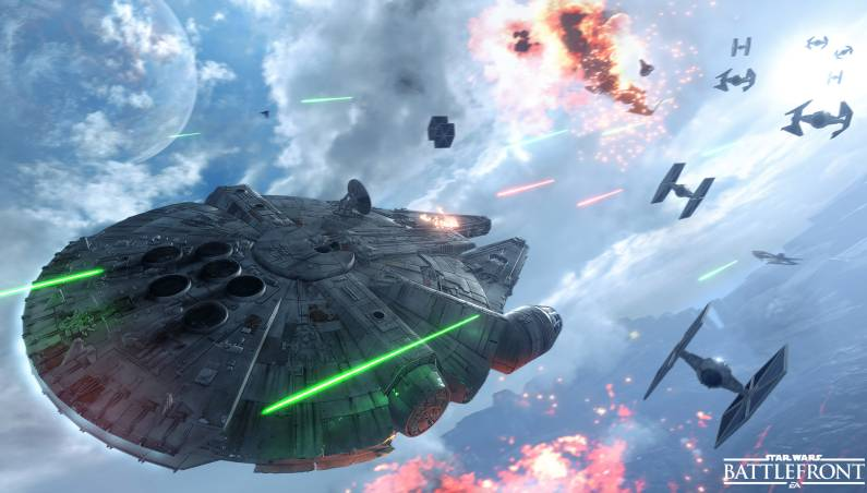 EA Star Wars Battlefront Gamescom 2015