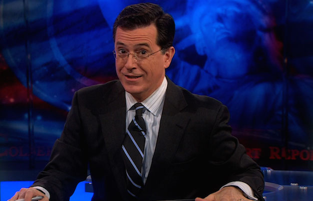 Stephen Colbert Tim Cook