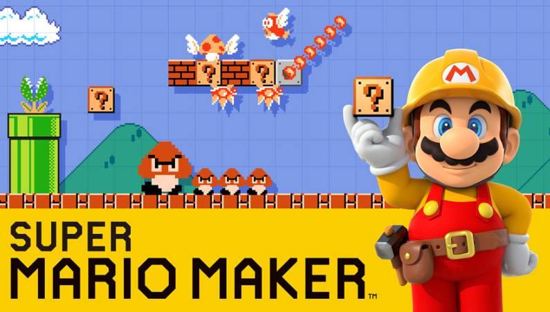 Super Mario Maker Gameplay Video