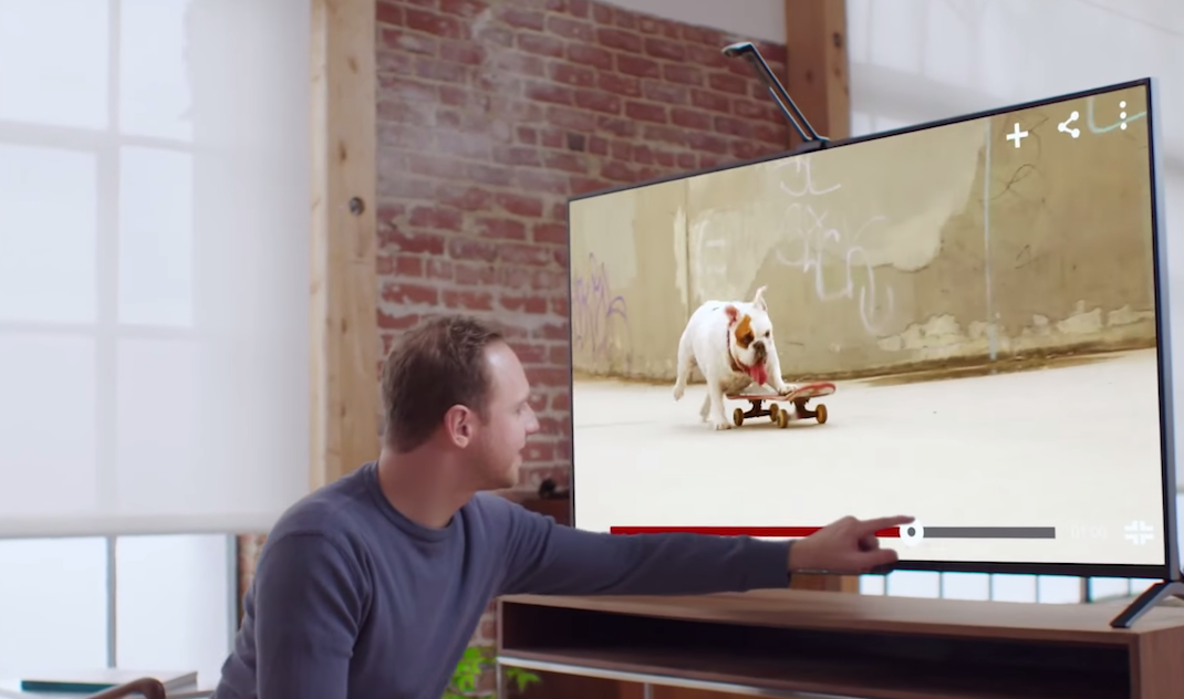 Turn Your TV Into A Tablet