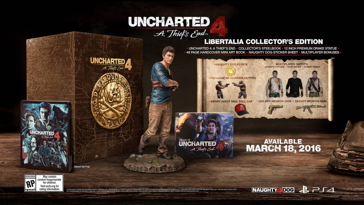 Uncharted 4 Release Date