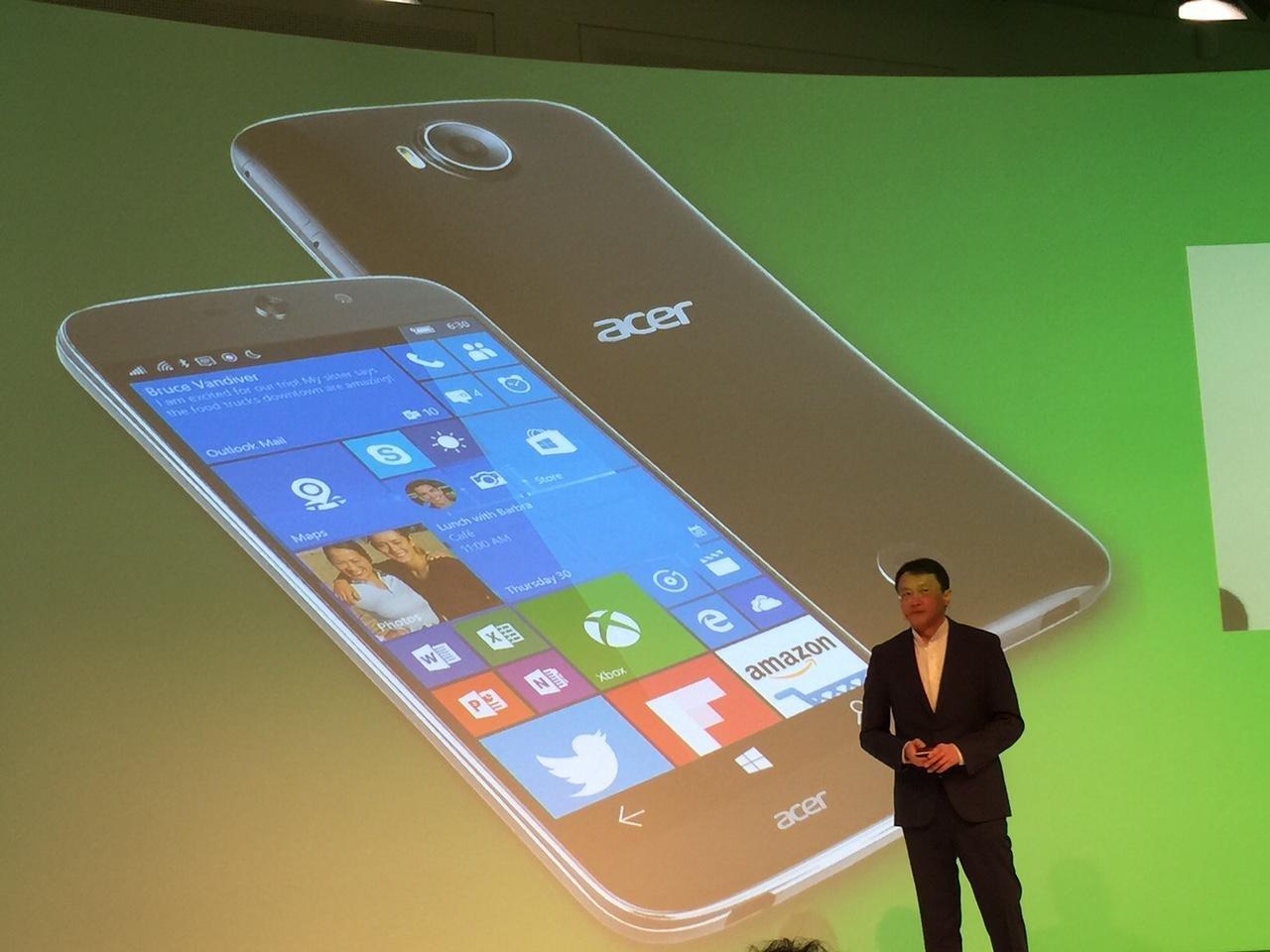 Acer Jade Primo Windows 10