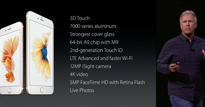 iPhone 6s iPhone 6s Plus Specs Features