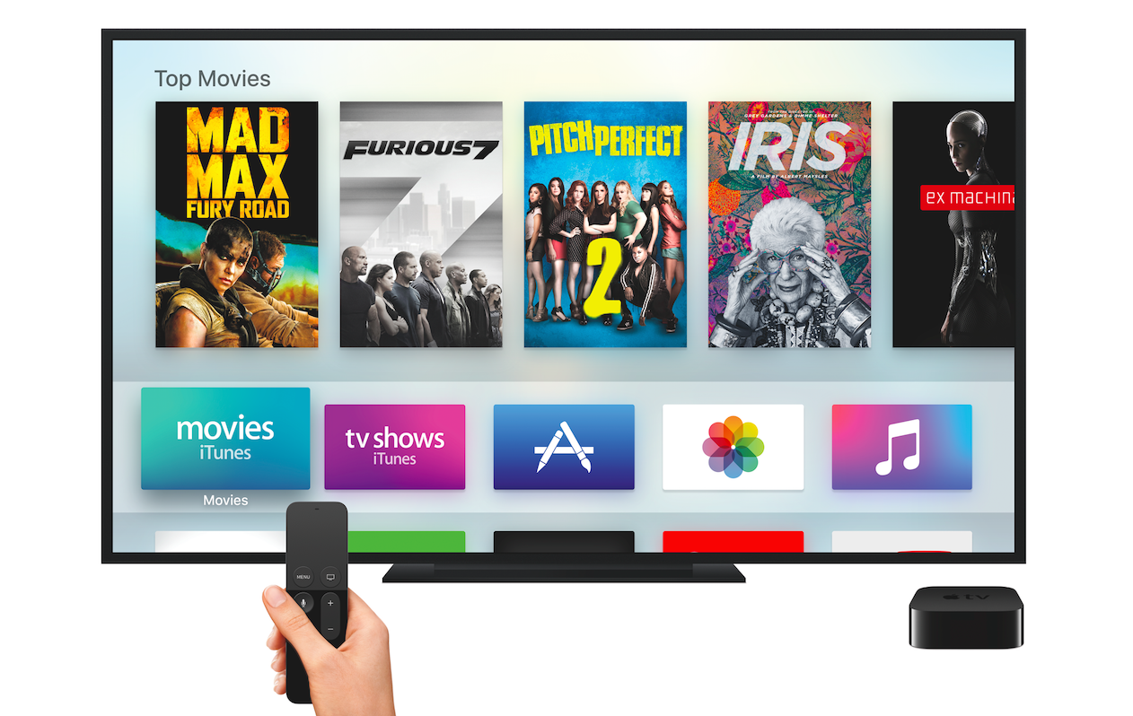 how to connect apple tv box