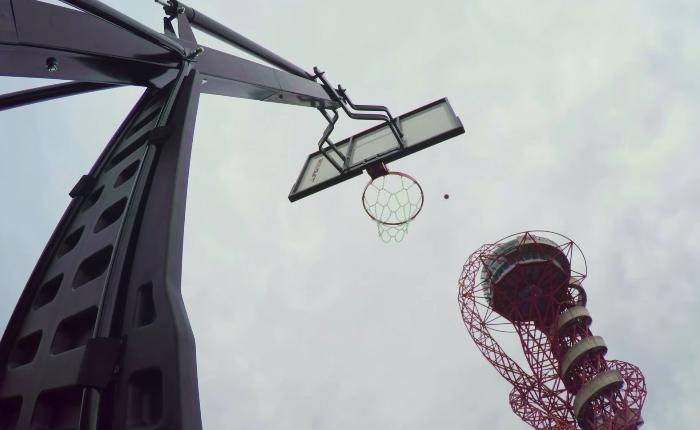 ArcelorMittal Orbit BasketBall Shot Video