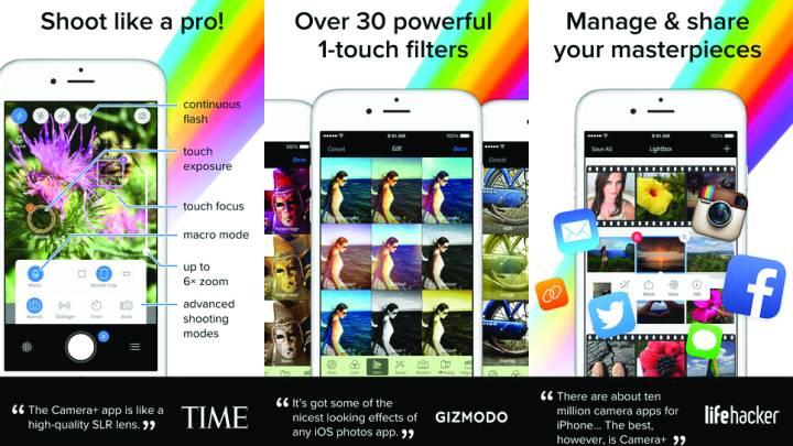 iPhone Best Free Camera App