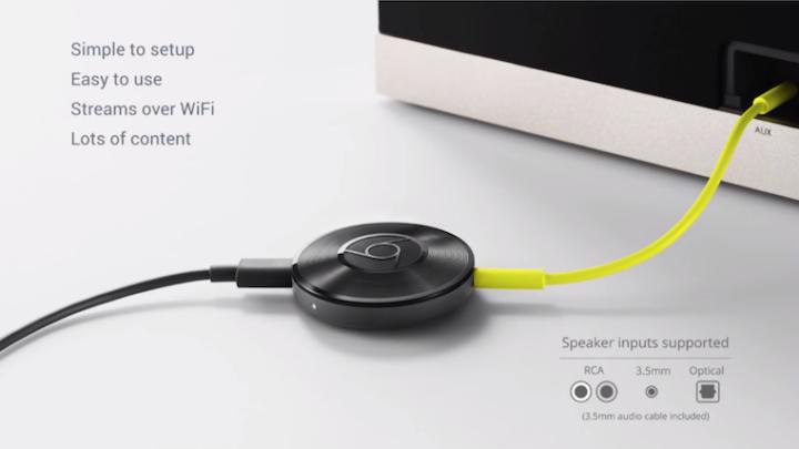 Chromecast Audio Apple