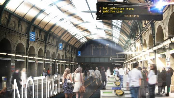 London Subway Circle Line
