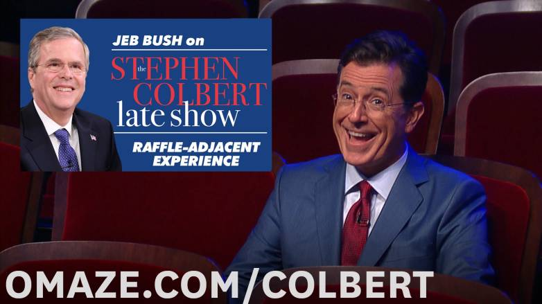 Stephen Colbert Jeb Bush Interview