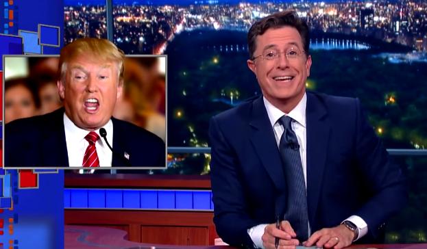 Stephen Colbert Donald Trump Video