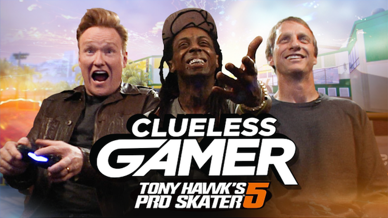Conan's Clueless Gamer