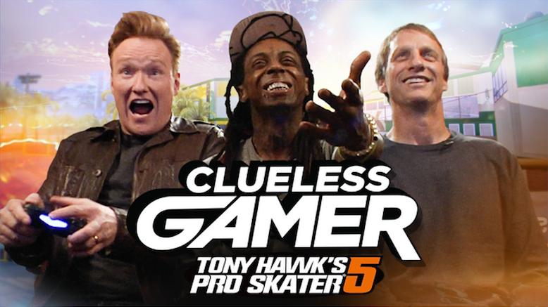 Conan's Clueless Gamer