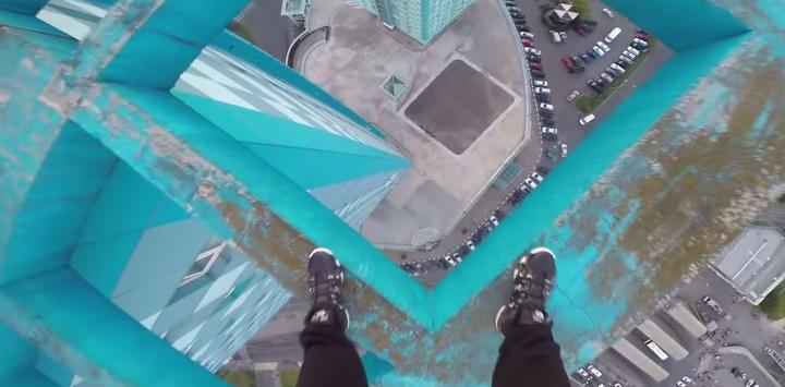 Scary Tricks Skyscraper Video