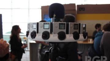 GoPro Odyssey 360 Degree Virtual Reality Camera Rig