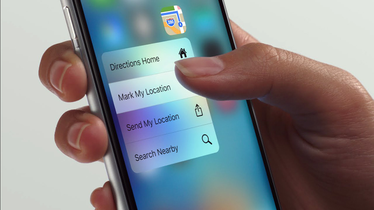 iPhone 6s 3D Touch Haptic Displays