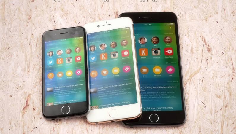 iPhone 6s 6s Plus 6c 3D Renders