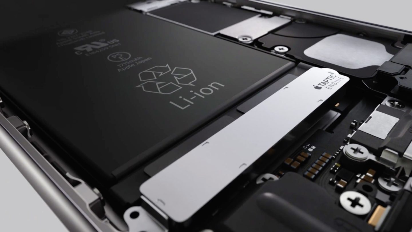 iPhone 6s iPhone 6 Plus Battery Life