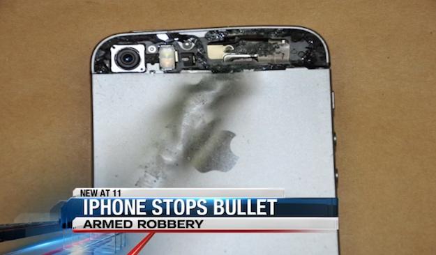 iPhone Stops Bullet