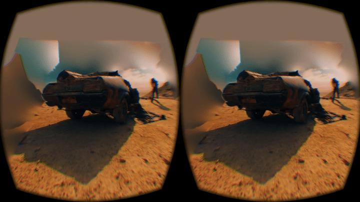 Virtual Reality Movie Scenes