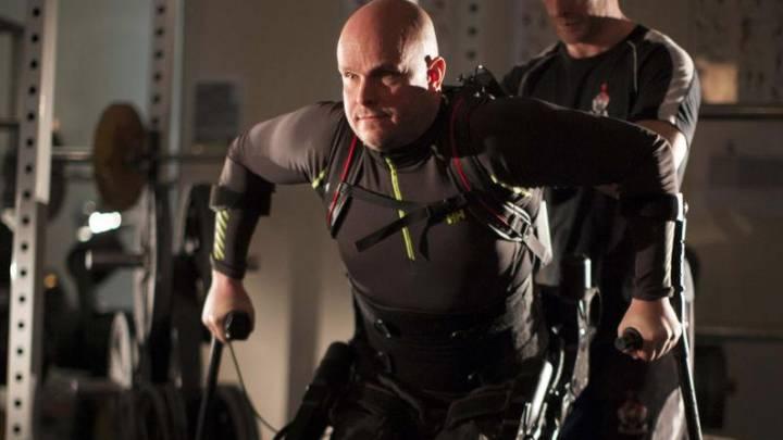 Exoskeleton Paralysed Man Walk