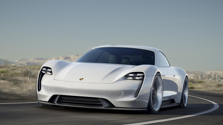 Porsche Mission E Vs Tesla