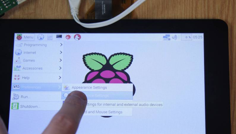 Raspberry Pi Touch Display $60