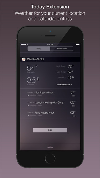 Make LockScreen (To-do List & Weather) on the App Store