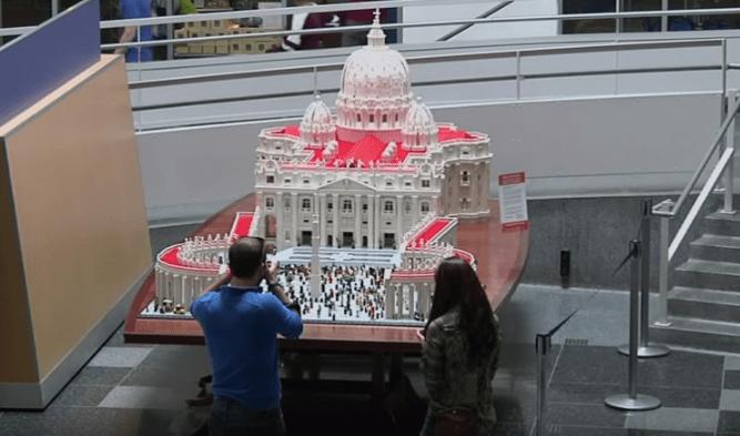 Lego Vatican Replica Video
