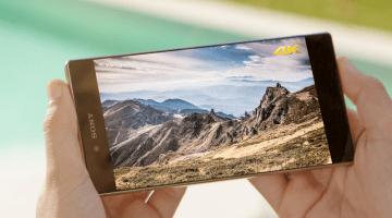 Sony Xperia Z5 Premium 4K Display