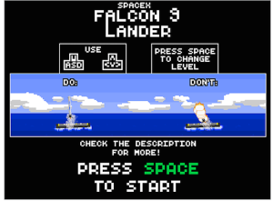 SpaceX Falcon 9 Lander