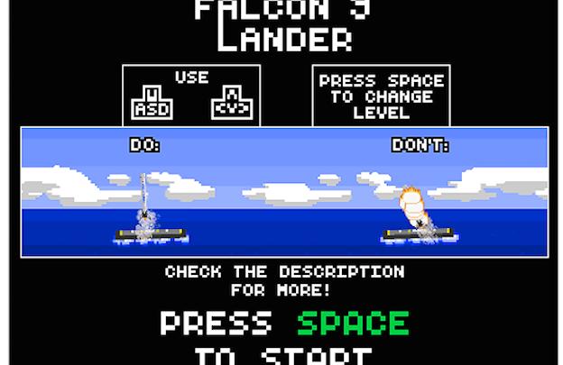 SpaceX Falcon 9 Lander