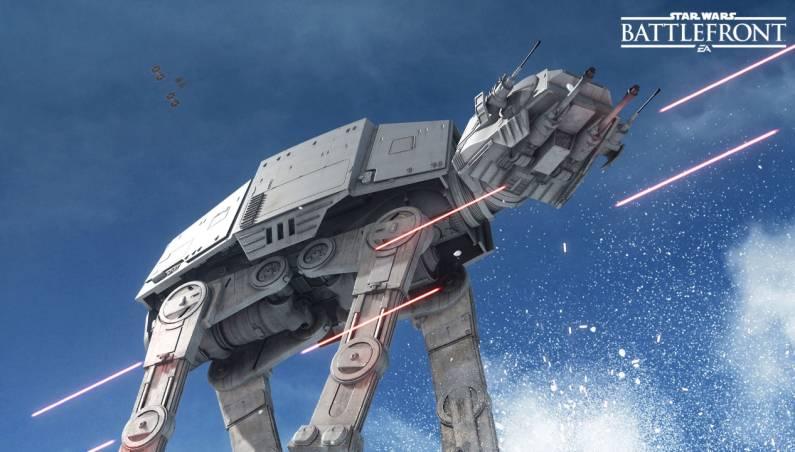 Star Wars Battlefront Leaked Alpha Footage
