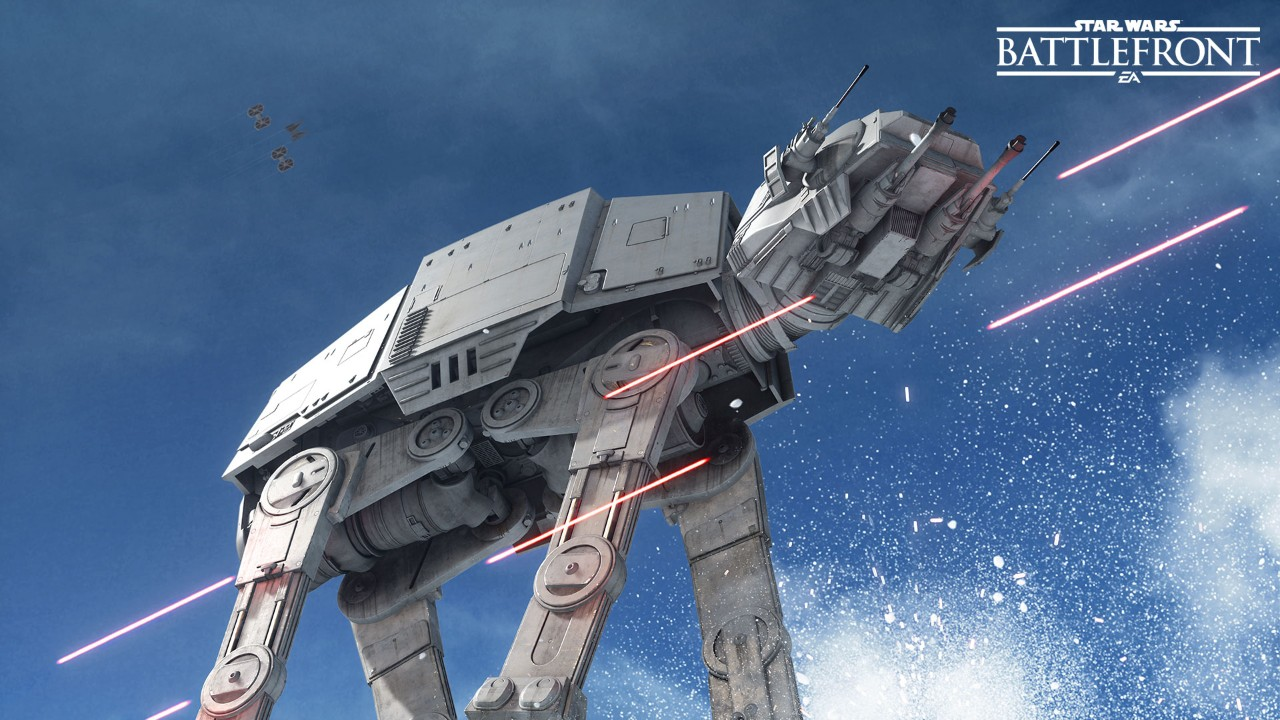 Star Wars Battlefront Leaked Alpha Footage